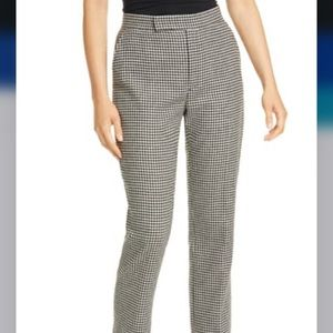 Ralph Lauren Houndstooth Check Wool Blend Trousers